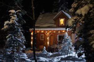 Cabin im Rampenlicht